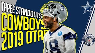 Three Players Standing Out at Cowboys OTAs