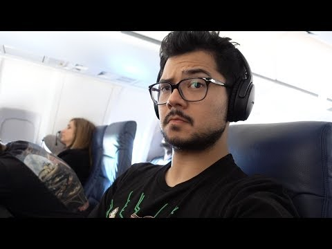 Tested on an AIRPLANE!! Noise Cancelling Bose QC35 II Review