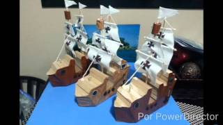 Pasos para hacer los barcos de las 3 carabelas