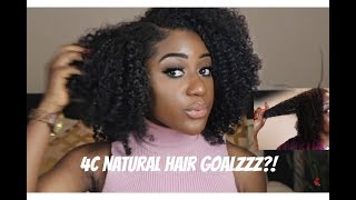 KINKY CURLY HAIR | The Most Realistic Kinky Brazilian Sew-In |