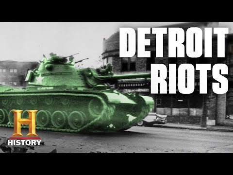 What Started The 1967 Detroit Riots? | History