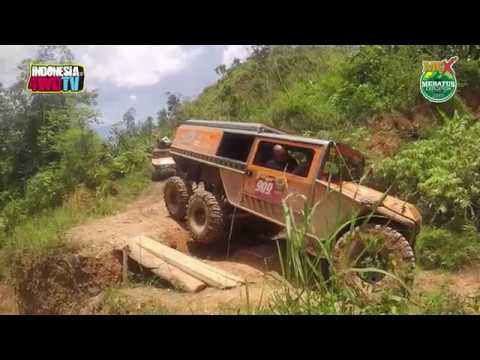 MeX 2017 - Ep. Monster 6x6 Hajar Trek Meratus - Exclusive!