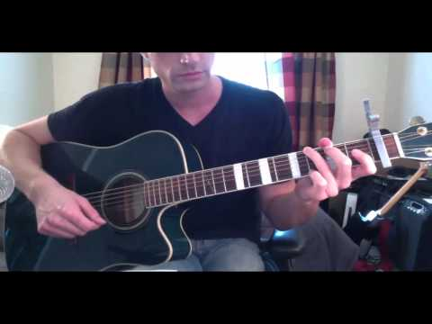 """How To Play Bruno Mars """"Count On Me"""" - Guitar Lesson - By Teacher Brett Sanders"""