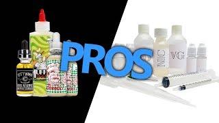 The Pros of Premium vs DIY Eliquid | Should I DIY? Is Premium Ejuice Too Expensive?