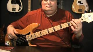 Eric Carmen Hungry Eyes Bass Cover with Notation & Tablature