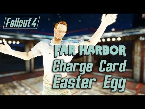 Fallout 4 Far Harbor - Charge Card Easter Egg