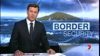 Channel 7 - Australian Border Force patrolling the northern maritime boundary