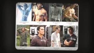 Christian Bale weight loss secret