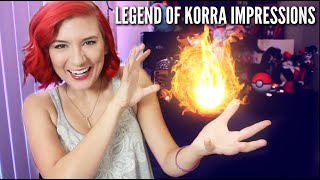 LEGEND OF KORRA IMPRESSIONS