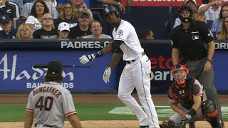 SF@SD: Blash crushes a two-run homer to center