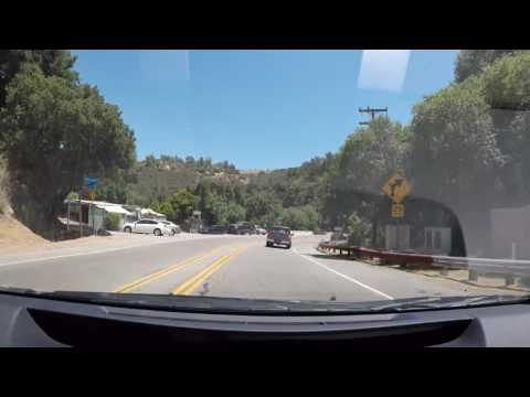 Topanga Canyon Blvd Southbound 06-25-17 Mulholland Drive to Pacific Coast Highway