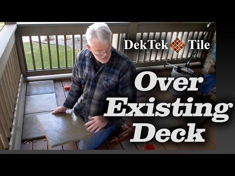 Concrete Deck Tiles