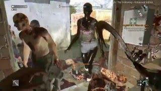Dying Light The Following - FREEZING MELEE WEAPONS GAMEPLAY!