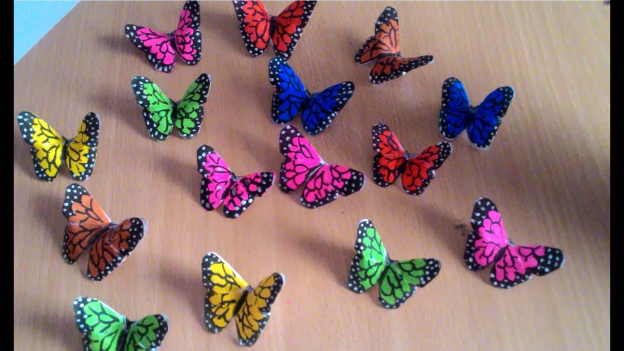 Room decoration with butterfly youtube - Rm decoration pic ...