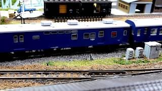 Nゲージ Kato製C57が牽引する旧客急行 thumbnail