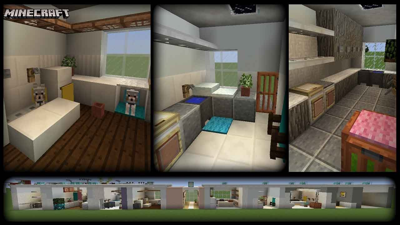 Minecraft 10 Laundry Designs Plus Tips Youtube