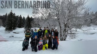 San  Bernardino Snowshoes| AS Monteceneri
