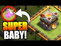 1 SUPER BABY DRAGON vs TOWN HALL 11!! 💥 Clash Of Clans 💥 WHAT HAPPENS NEXT!?!