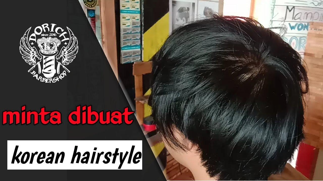 korean hairstyle - two block haircut Indonesia || gaya ...