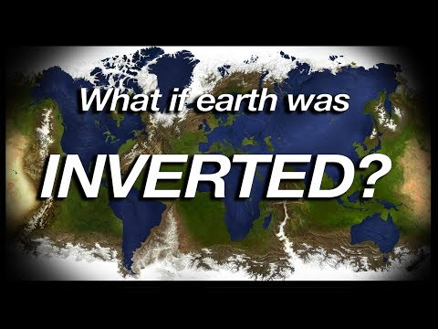 What if Earth was INVERTED? (Geography Now!)