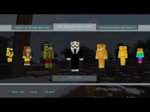 SKIN MOD MINECRAFT PS DOWNLOAD YouTube - Skins fur minecraft ps3