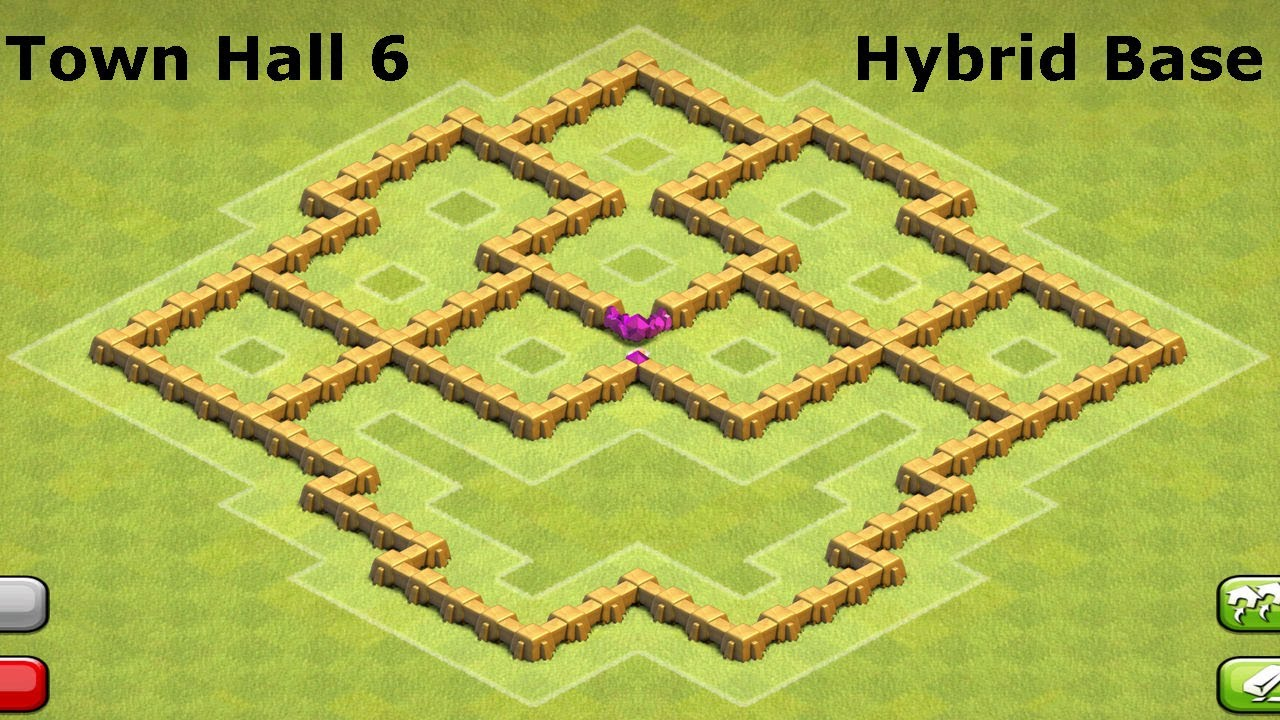 Clash Of Clans Town Hall  Building Format