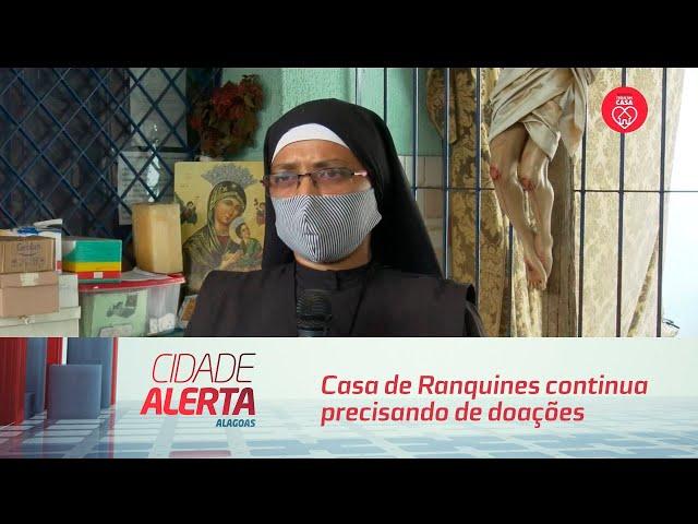 Covid-19: Casa de Ranquines continua precisando de doações