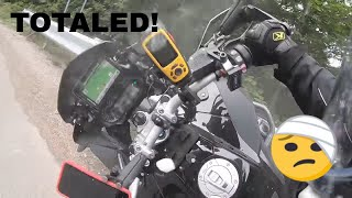 Crash: BMW R1200GS Adventure and my Final Ride