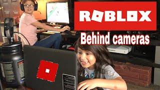 ROBLOX behind camera's
