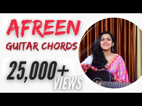 Afreen Guitar Lesson   Easy Chords   Simple Lesson   Live