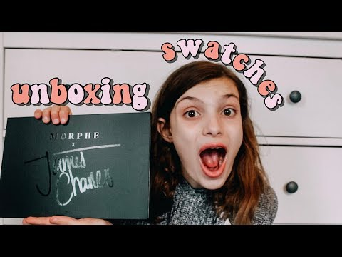 JAMES CHARLES x MORPHE PALETTE | UNBOXING + SWATCHES thumbnail
