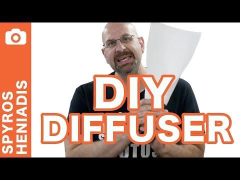 DIY Flash Diffuser For Under $1 (Better than Gary Fong!)