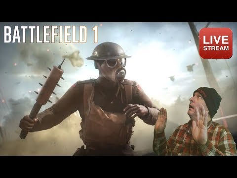 [PC] Battlefield 1 - Ultra 1080p - Morning coffee on the battlefield  Stats  review and Squad play!