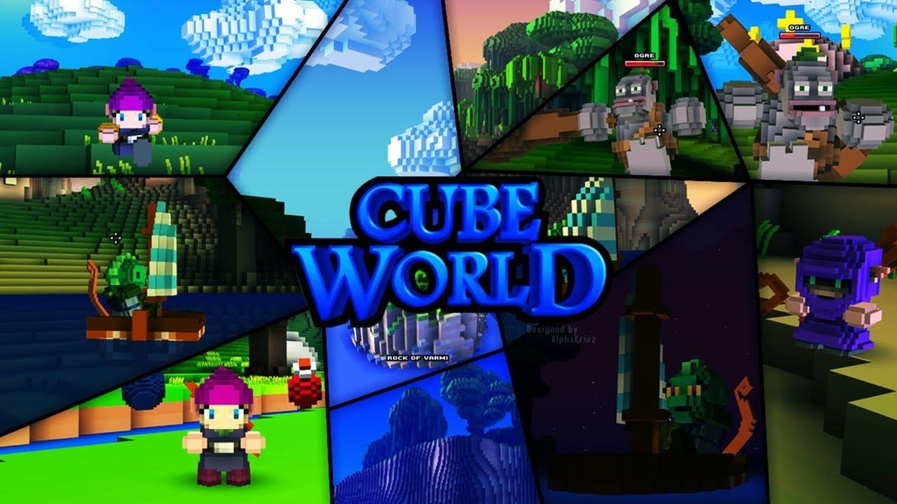 Скачать cube world на пк через торрент