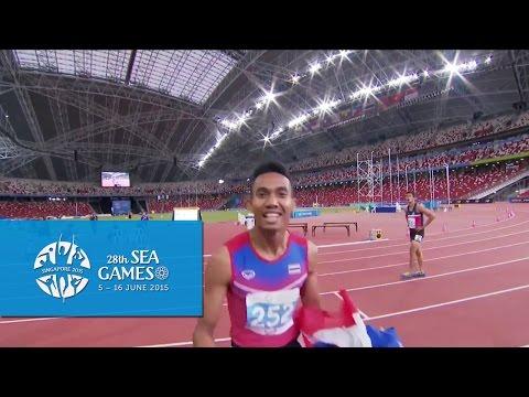 Athletics Mens 110m Hurdles Final (Day 6) | 28th SEA Games Singapore 2015