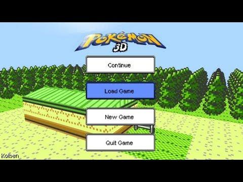Pokemon 3d online mmo rpg 2017-2018 youtube.