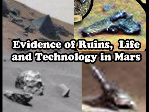 Evidence of Ruins,  Life and Technology in Mars (TOP FINDINGS WITH PHOTOS)
