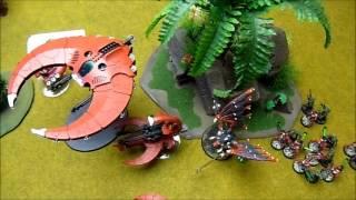 Battle Report 0029 - 40k Chaos Daemons w/CSM vs. Necrons