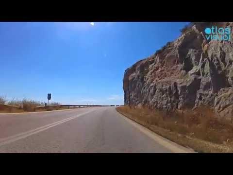 Athens to Sounion Drive, Greece - AtlasVisual