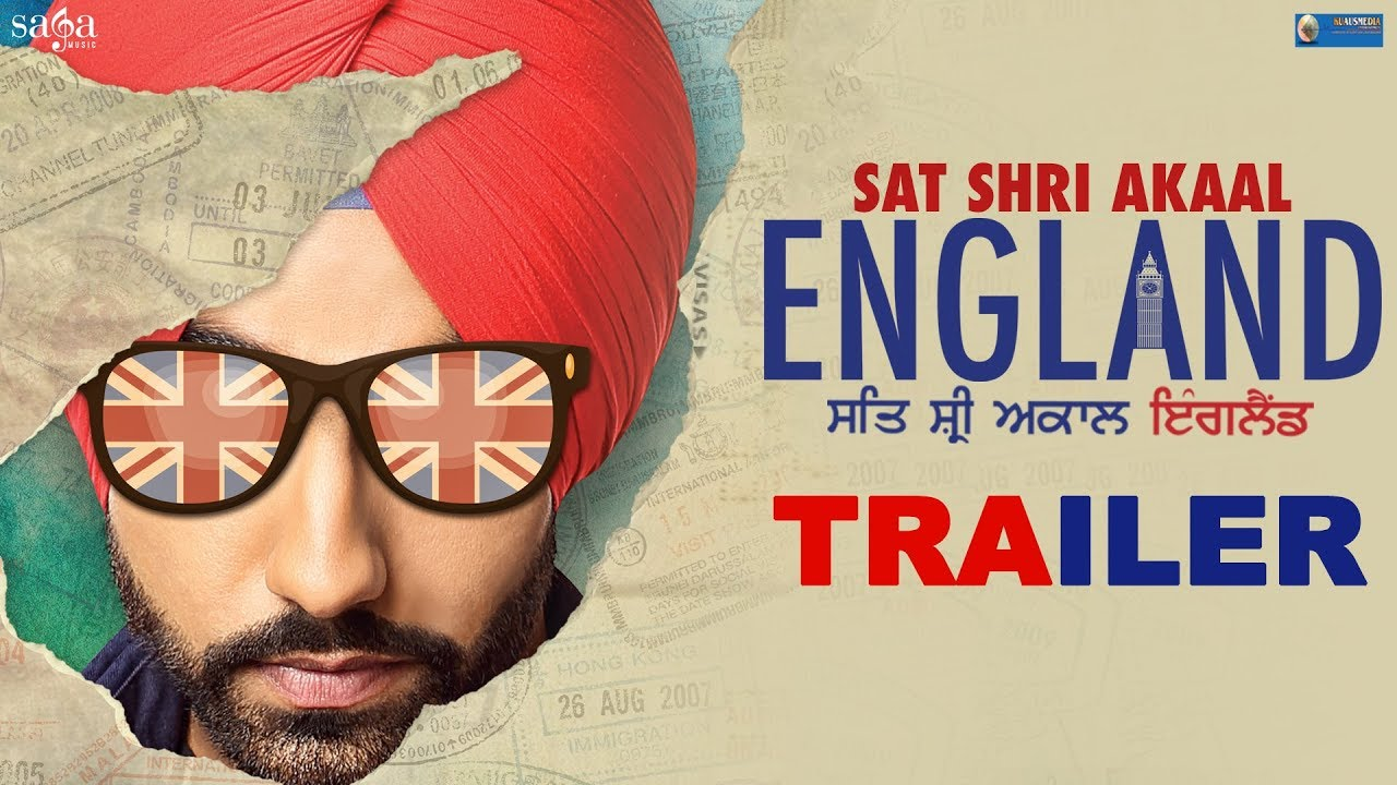 Sat Shri Akaal England Full Movie Released Now (Official Trailer) Ammy Virk, Monica Gill, Saga Music