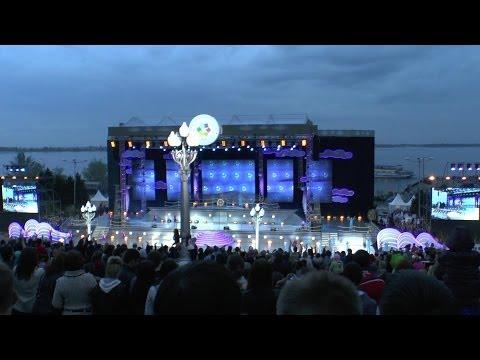 Флешмоб QUEEN-Дельфийские игры 2014 Волгоград-Турнир Юных Талантов открытие-начало на набережной
