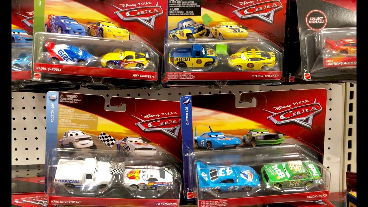 New Disney Cars 3 Toy Hunt For Jurassic World Fallen