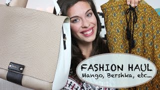 FASHION HAUL: Mango, Bershka, FURLA, Pull and Bear | Aktuell erhältliche Klamotten