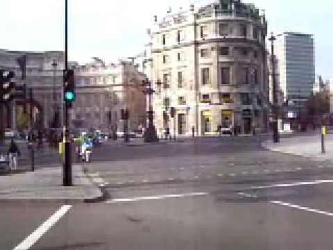 Queen Elizabeth II motorcade, london