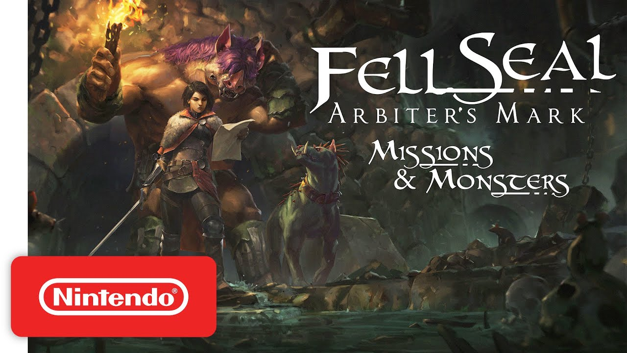 Launch Trailer για το Fell Seal: Arbiter's Mark - Missions and Monsters DLC