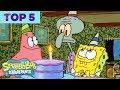 Top 5 Biggest Bikini Bottom Partayyys 🎉 | SpongeBob SquarePants | Nick