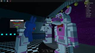 cmp corp Recording on Roblox fnaf Sister location