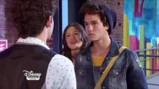 Fab and chic  Soy Luna Extrait Matteo et Simon se disputent pour Luna épisode 19