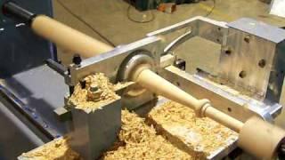 Motioncat CNC Wood Lathe Square Spindle Turning