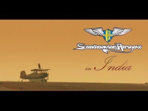 Scandinavian Airshow in India - The movie.